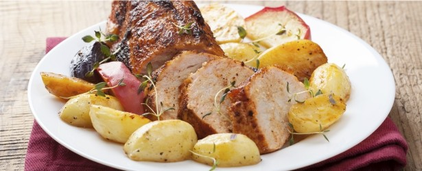 Tender pork tenderloins rubbed with Chinese Five-Spice brings warm ...