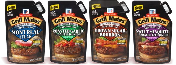 McCormick Grill Mates Steakhouse Burgers Seasoning-Mix-ins