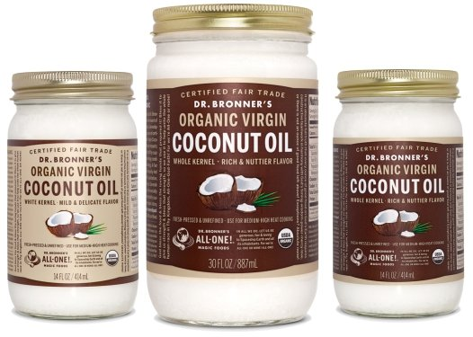 Dr Bronners Virgin Coconut Oil Monthly July 2015-products