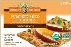 Dr Kracker Crispbreads Dec 2015 Monthly-pumpkin seed cheddar