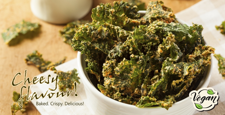 Homemade Cheesy Vegan Kale Chips – Welcome to Lindos Group ...