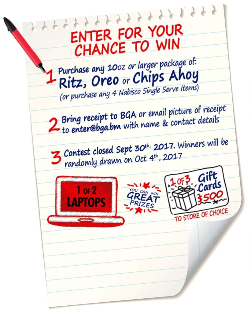 Back to School with Nabisco 2017-enter details