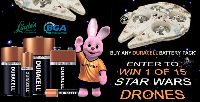 Duracell Promo Star Wars