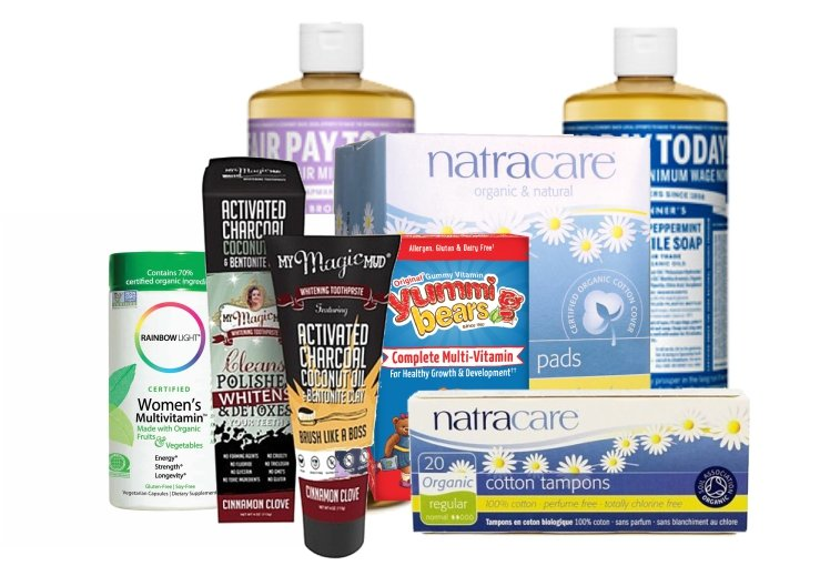 Earth day Pharmacy Corner-products