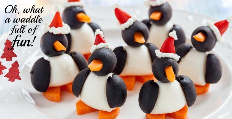 Parade of Penguins Appetizer-slider