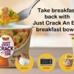 Ore Ida Just Crack an Egg-slider