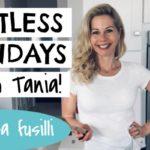 Chickpea fusilli with Tania