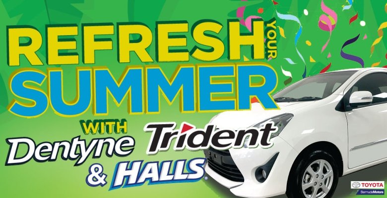 Refresh Your Summer with Dentyne Trident & Halls