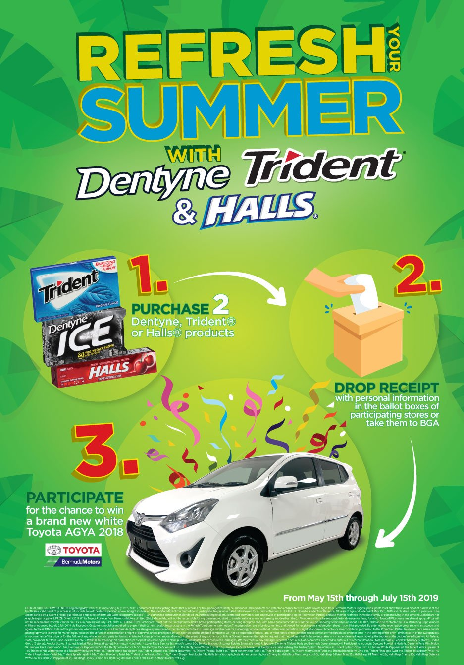 Participate to Win with Dentyne, Trident & Halls – Welcome