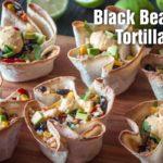 Black Bean & Rice Tortilla Bowl-slider