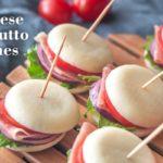 Mini Cheese & Prosciutto Sandwiches-slider