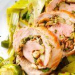 Bacon & Mushroom Stuffed Pork Tenderloin-slider