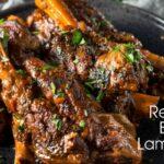 Red Wine Braised Lamb Shanks-sld